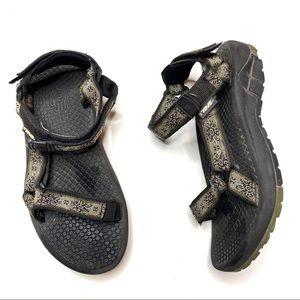TEVA Hurricane Tribal Print Hiking Sandals